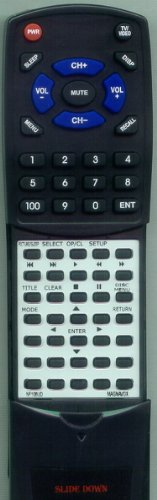 MAGNAVOX リプレイスメント Remote Control for CD130MW8, NF108UD, NF108UD 「汎用品」(海外取寄せ品)