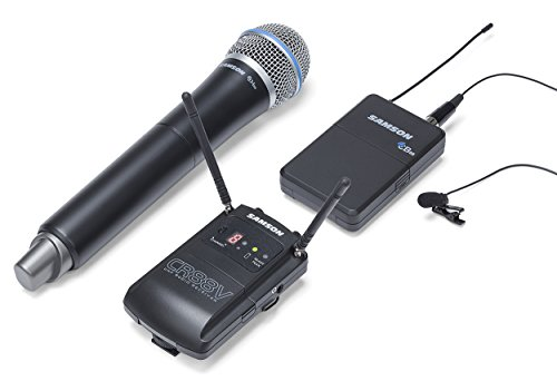 Samson Concert 88 Camera (Combo) UHF Wireless System, Channel K 「汎用品」(海外取寄せ品)