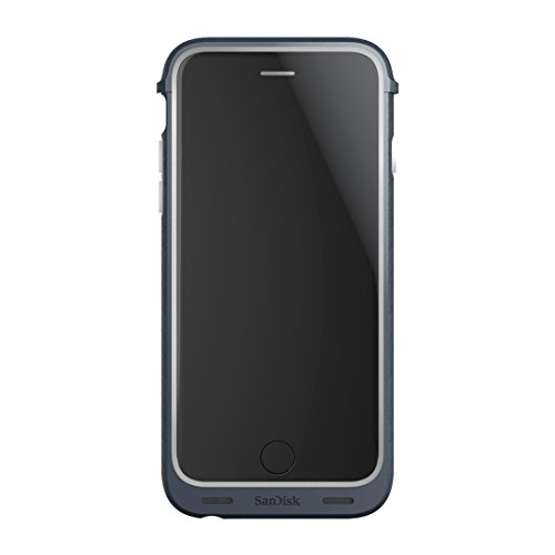 SanDisk iXpand 32GB Memory ケース for iPhone 6/6s - Retail パッケージング - グレー 「汎用品」(海外取寄せ品)
