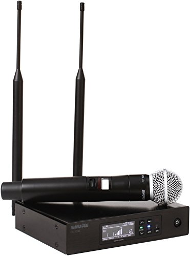Shure QLXD24/SM58 ハンドヘルド Wireless System with SM58 Vocal Microphone, G50 「汎用品」(海外取寄せ品)
