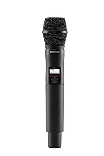 Shure QLXD2/SM87 ハンドヘルド Wireless Transmitter with SM87A Microphone, G50 「汎用品」(海外取寄せ品)