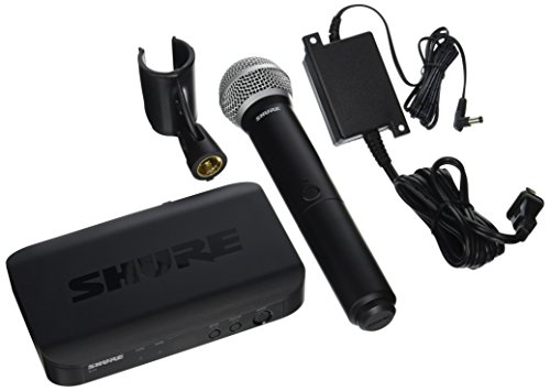 Shure BLX24/PG58-H9 Wireless Vocal System with PG58 ハンドヘルド Microphone, H9 「汎用品」(海外取寄せ品)