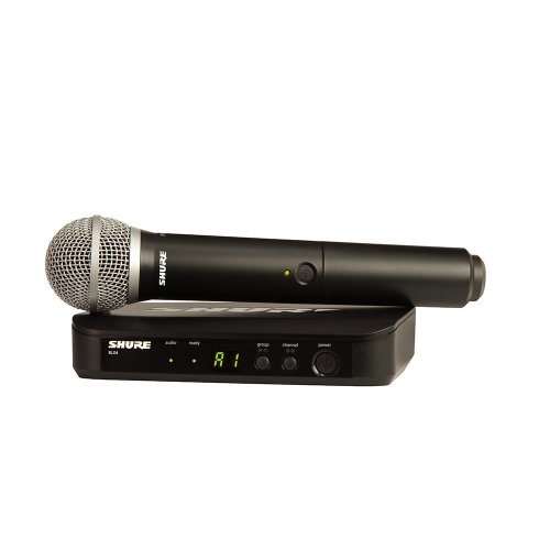 Shure BLX24/PG58 Wireless Vocal System with PG58 ハンドヘルド Microphone, J10 「汎用品」(海外取寄せ品)