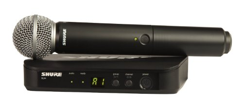 Shure BLX24/SM58-H10 Wireless Vocal System with SM58 ハンドヘルド Microphone, H10 「汎用品」(海外取寄せ品)