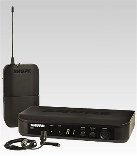 Shure BLX14/CVL Instrument Wireless System with CVL Lavalier Microphone, M15 「汎用品」(海外取寄せ品)