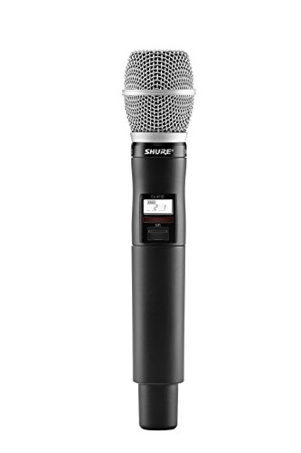 Shure QLXD2/SM86 ハンドヘルド Wireless Transmitter with SM86 Microphone, G50 「汎用品」(海外取寄せ品)