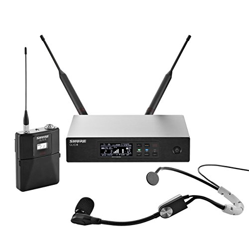 Shure QLXD14/SM35 Headworn Wireless System with SM35 ヘッドセット Microphone, H50 「汎用品」(海外取寄せ品)
