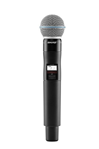 Shure QLXD2/B58 ハンドヘルド Wireless Transmitter with BETA 58A Microphone, G50 「汎用品」(海外取寄せ品)