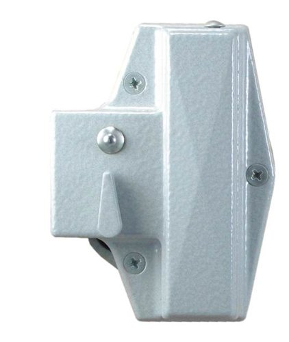 Kaba Simplex 900 Series メタル Mechanical Pushbutton Auxiliary ロック with Thumbturn, フィット 35mm to 38mm Thick Door, 16mm Deadlocking スプリング Latch, Flat フロント, サテン クローム Finish 「汎用品」(海外取寄せ品)