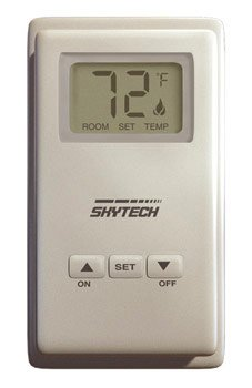 Skytech TS/R-2 Wireless ウォール Mounted Thermostat Fireplace Remote Control 「汎用品」(海外取寄せ品)