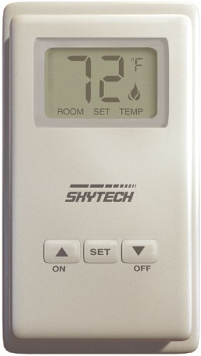 Skytech TS-3 Wired ウォール Mounted Thermostat Fireplace Control 「汎用品」(海外取寄せ品)