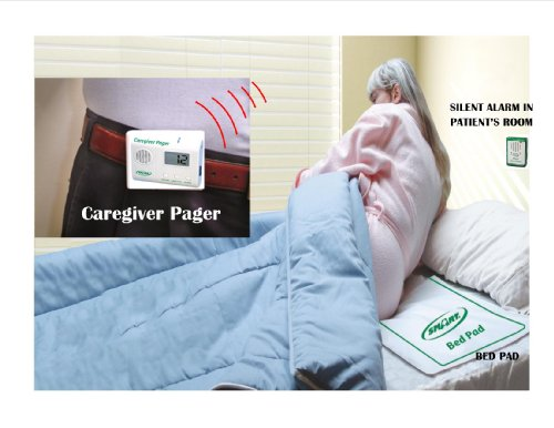 Paging Bed アラーム System & ロング Term Bed Pad - Plus Kerr Absorbent プロテクター Pads 「汎用品」(海外取寄せ品)