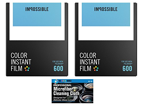 Impossible PRD4514 カラー Film for Polaroid 600-Type Cameras - 2 パック 「汎用品」(海外取寄せ品)