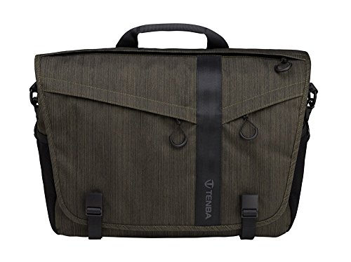 Tenba 638-382 Messenger DNA 15 Camera and Laptop Bag (Olive) 「汎用品」(海外取寄せ品)