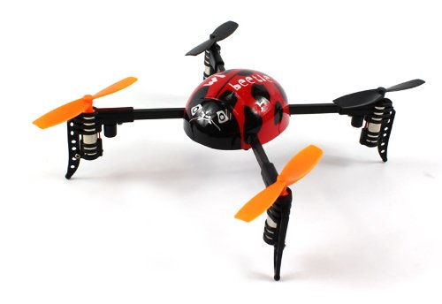 Ladybird クワッド-Rotor V939 Electric RC Helicopter 2.4GHz GYRO 4CH RTF (Colors May Vary) 「汎用品」(海外取寄せ品)