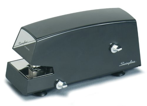 Swingline Commercial Electric Stapler, Heavy Use, 20 Sheets, ブラック (S7006701) 「汎用品」(海外取寄せ品)