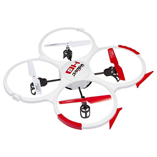 UDI U818A 2.4GHz 4 CH 6 Axis Gyro RC Quadcopter 818A with Camera ホワイト with 2 Batteries & Parts セット 「汎用品」(海外取寄せ品)