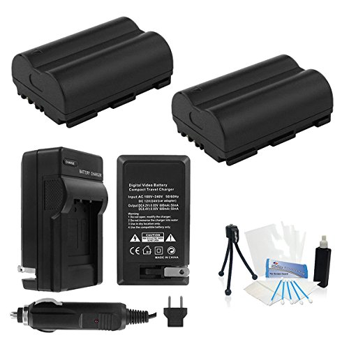 UltraPro Canon BP-511/BP-511a/BP-512 ハイ-Capacity リプレイスメント Batteries with Rapid トラベル Charger for Canon デジタル Cameras 「汎用品」(海外取寄せ品)