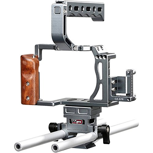 Vidpro CA-S7R Aluminum Camera ビデオ Cage Rig for ソニー Alpha A7 Series フィット A7, A7 II, A7S, A7S II, A7R & A7R II デジタル Cameras 「汎用品」(海外取寄せ品)