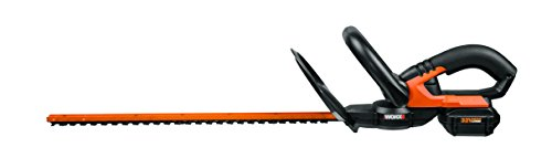 WORX WG275 32V Lithium-イオン Cordless Hedge Trimmer, 20-Inch, バッテリー and Charger インクルード 「汎用品」(海外取寄せ品)