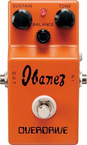 Ibanez リミット Edition OD850 Overdrive Guitar Effects Pedal (海外取寄せ品)