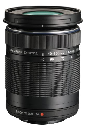 Olympus M. 40-150mm F4.0-5.6 R Zoom レンズ (Black) for Olympus and Panasonic Micro 4/3 Cameras (海外取寄せ品)