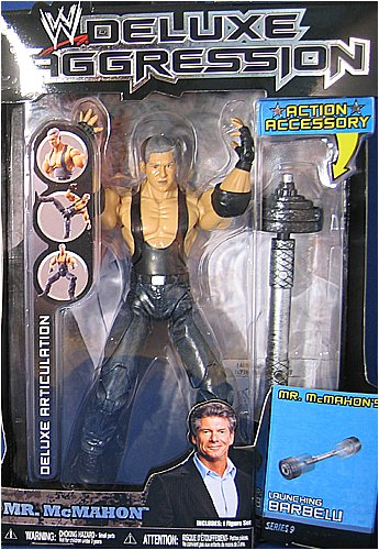 WWE Wrestling DELUXE Aggression Series 9 アクション Figure Mr. Vince McMahon (海外取寄せ品)