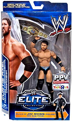 Mattel WWE Wrestling Exclusive エリート コレクション Pay パー ビュー アクション Figure Curtis Axel [Jim Ross Build a Figure!] (海外取寄せ品)