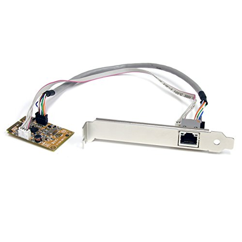 StarTech ST1000SMPEX ミニ PCI エクスプレス Gigabit Ethernet Network Adapter NIC Card (海外取寄せ品)