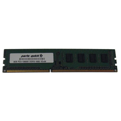 4GB Memory Upgrade for MSI Motherboard Z77 MPOWER DDR3 P3-12800 1600MHz Non-ECC Desktop DIMM RAM Upgrade PARTS-QUICK Brand
