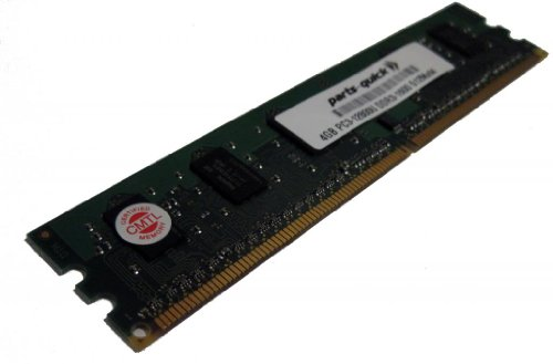4GB メモリ memory Upgrade for エイスース ASUS/ASmobile F2 Motherboard F2A55-M LK PLUS DDR3 P3-12800 1600MHz NON-ECC デスクトップ DIMM RAM Upgrade (PARTS-クイック BRAND) (海外取寄せ品)