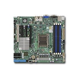 Supermicro Motherboard H8SCM-F AMD Opteron SR5650/SP5100 DDR3 SATA PCI エクスプレス (海外取寄せ品)