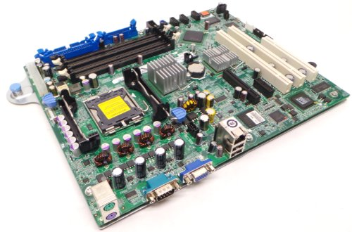 Genuine デル XM091 RH822 Motherboard Mainboard System Board For the PowerEdge 840 Generation II System, Chipset Intel 3000, Supported CPUs: デュアル-Core Intel Xeon processor 3000 Sequence, Intel Celeron Pentium, LGA775 Socket CPU and メ・ (海外取寄せ品)