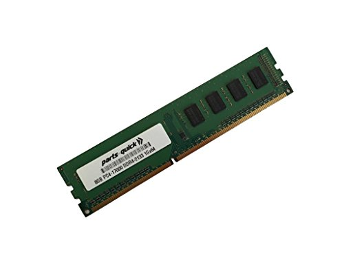8GB メモリ memory for ASRock Motherboard H110M コンボ-G DDR4 PC4-17000 2133 MHz NON-ECC DIMM (PARTS-クイック BRAND) (海外取寄せ品)