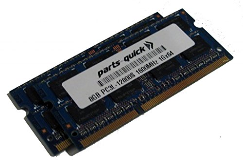 16GB (2 X 8GB) キット メモリ memory for エイサー Acer Aspire E5-573-79MK DDR3L PC3L-12800 SODIMM RAM (PARTS-クイック BRAND) (海外取寄せ品)