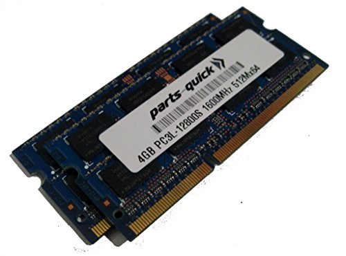 8GB キット (2 X 4GB) メモリ memory for エイサー Acer Aspire E1-571-6446 DDR3L PC3L-12800 SODIMM RAM (PARTS-クイック BRAND) (海外取寄せ品)