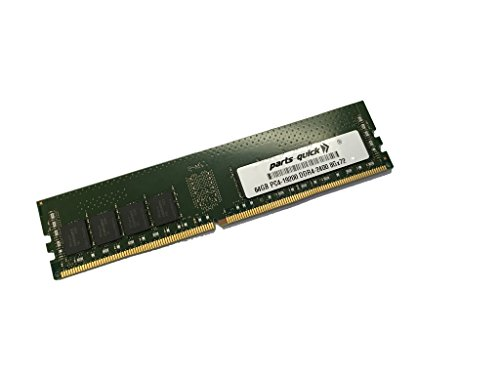 64GB メモリ memory for Supermicro SuperServer 6028U-E1CNR4T+ (Super X10DRU-i+) DDR4 PC4-2400 LRDIMM (PARTS-クイック BRAND) (海外取寄せ品)