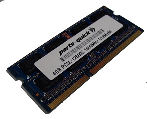 4GB メモリ memory for ASUSTOR AS5010T DDR3L 1600 SODIMM RAM モジュール (PARTS-クイック R BRAND) (海外取寄せ品)