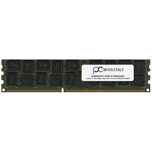 IBM 32GB (1x32GB, 4Rx4, 1.5V) PC3-14900 CL13 ECC DDR3 1866MHz LP LRDIMM 46W0761 (海外取寄せ品)