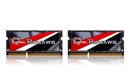 G.Skill Ripjaws Series Laptop メモリ memory F3-1600C9D-16GRSL 16GB (2 x 8G) DDR3 SO-DIMM 1.35v デュアル-channel (海外取寄せ品)