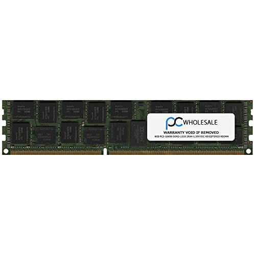 デル 2Rx4 8GB PC3-10600 デル DDR3-1333 2Rx4 RDIMM 1.35v ECC レジスター RDIMM for デル (Dell PN# A6994466) (海外取寄せ品), 米屋薬店:02ce7d32 --- data.gd.no