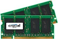 4GB キット (2GBx2) Upgrade for a デル Inspiron E1405 System (DDR2 PC2-5300, NON-ECC, ) (海外取寄せ品):シアター