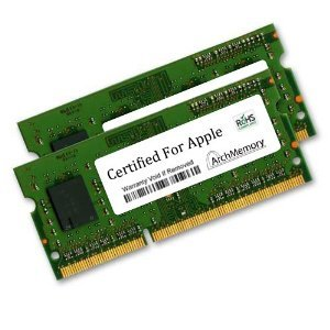 CERTIFIED FOR APPLE 8GB キット (2 x 4GB) RAM メモリ memory for MacBook プロ ミッド-2009 Models MC226LL/A MC226LL/A DDR3-1066, PC3-8500, 204p SODIMM Upgrade by Arch メモリ memory (海外取寄せ品)