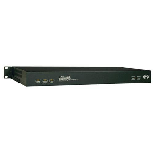 Tripp ライト B072-016-1-IP 16-Port NetCommander 1U Rackmount Cat5 KVM-オーバー-IP Switch (海外取寄せ品)