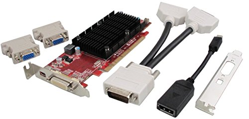 VisionTek プロダクト Radeon 6350 SFF 1GB DDR3 3M DMS59 with 2x DVI-I to VGA Adapter グラフィック Cards 900456 (海外取寄せ品)