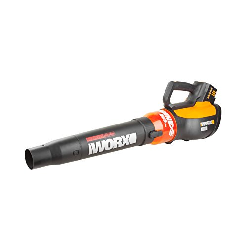 WORX TURBINE 56V Cordless Blower with Brushless モーター, 125 MPH and 465 CFM Output with TURBO ブースト and Variable スピード - WG591 「汎用品」(海外取寄せ品)
