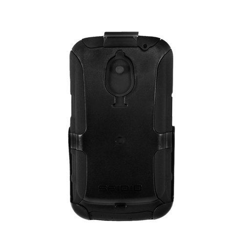 Seidio BD4-HKR4SSGNLX2 CONVERT Extended コンボ for use with Seidio Innocell Super Extended Life Batteries for サムスン Galaxy Nexus - Retail パッケージング - ブラック 「汎用品」(海外取寄せ品)