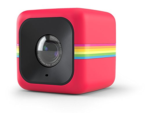 Polaroid Cube+ 1440p ミニ ライフスタイル アクション Camera with Wi-Fi & イメージ Stabilization (Red) 「汎用品」(海外取寄せ品)