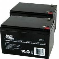 Interstate Batteries 12V 12 AH シール Lead Acid with 14 Tabs (Pair) by Interstate Batteries 「汎用品」(海外取寄せ品)
