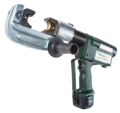 Greenlee EK1550L120 Gator バッテリー-Powered 15 Ton Crimping Tool with 120-Volt AC コー??ド Adaptor 「汎用品」(海外取寄せ品)